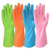 護手家務清潔耐磨光里乳膠洗碗橡膠手套