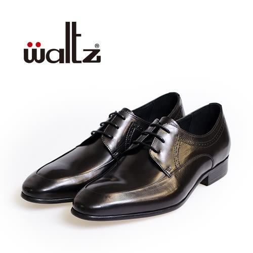 Waltz-簡約沖孔德比鞋212170-02(黑)
