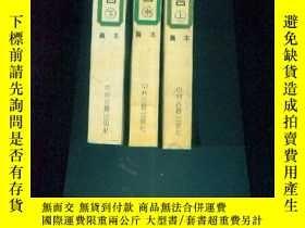 二手書博民逛書店野叟曝言(上中下罕見)1993年1版1印Y11521 [清]夏敬