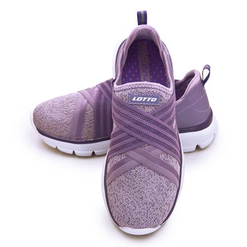 LIKA夢 LOTTO 輕量美型健走鞋 EASY WEAR 系列 芋紫 1167 女