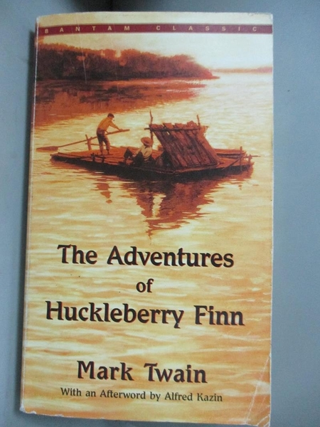 【書寶二手書T8/原文小說_OIR】The Adventures of Huckleberry Finn_Mark Tw