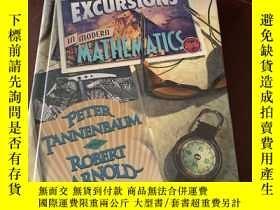 二手書博民逛書店Excursions罕見in Modern Mathematic