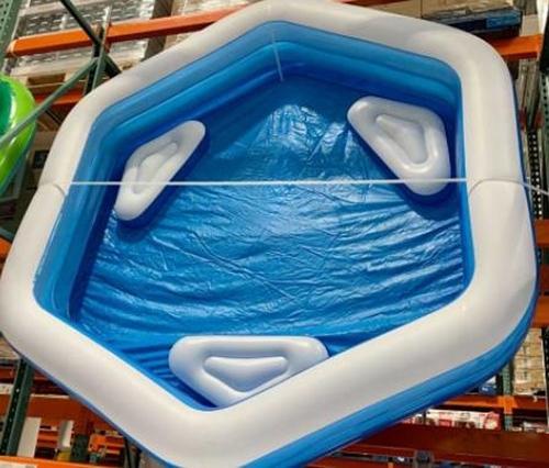 [COSCO代購] C2621037 BESTWAY HEXAGON POOL 六角形家庭游泳池