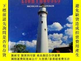 二手書博民逛書店Western罕見Great Lakes Lighthouses: Michigan and Superior (