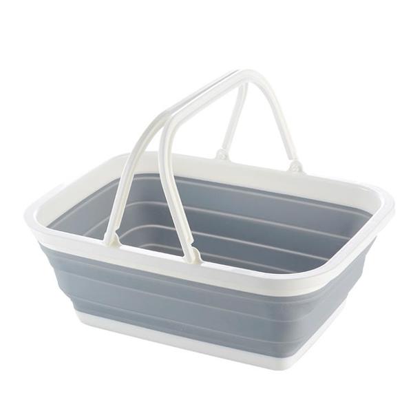 摺疊式塑料購物籃