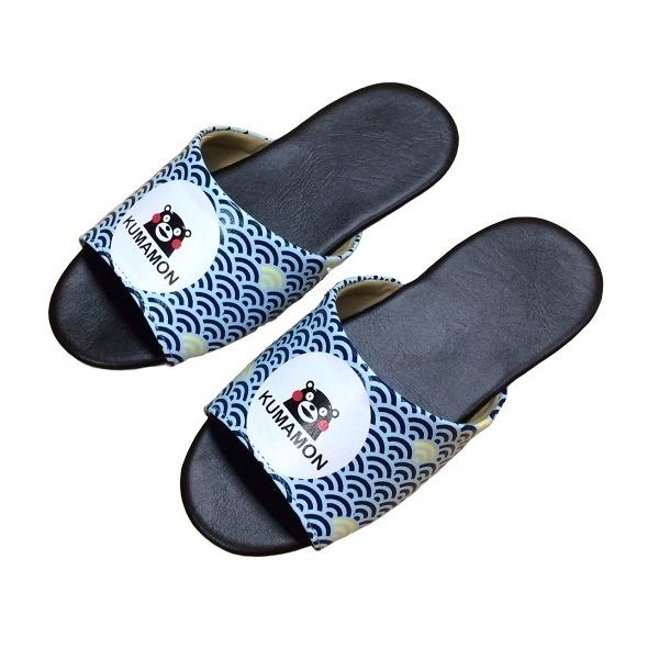 【KUMAMO】酷MA萌日系和風室內拖鞋 (兒童:18/20/22cm) 居家親子止滑拖