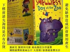 二手書博民逛書店the罕見smelliest day at the zoo 動物園裏最臭的一天Y200392