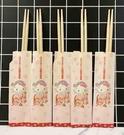 【震撼精品百貨】Hello Kitty 凱蒂貓~三麗鷗日本木筷-和風5入*83849