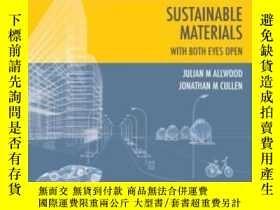 二手書博民逛書店Sustainable罕見Materials - With Both Eyes OpenY255562 Jul