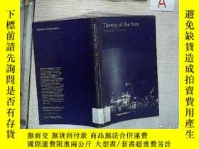 二手書博民逛書店外文書罕見THEORY OF THE FIRM 002 THEORY OF THE FIRM 企業理論Y261