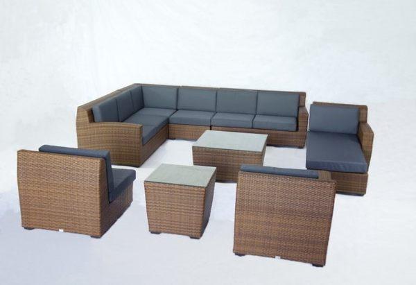 【南洋風休閒傢俱】戶外休閒沙發系列-藤編休閒沙發組 戶外沙發休閒組 HJ-512/1B