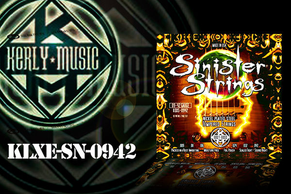 【小麥老師樂器館】kerly string KQXS-0942 冰火弦 電吉他弦 電吉他【T78】