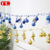 櫥窗裝飾品開業彩球店面吊頂聖誕樹聖誕節日店鋪布置商場裝飾吊球【快速出貨限時八折優惠】