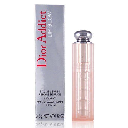 【福利品】Dior迪奧 粉漾潤唇膏3.5g #001(外盒瑕疵)