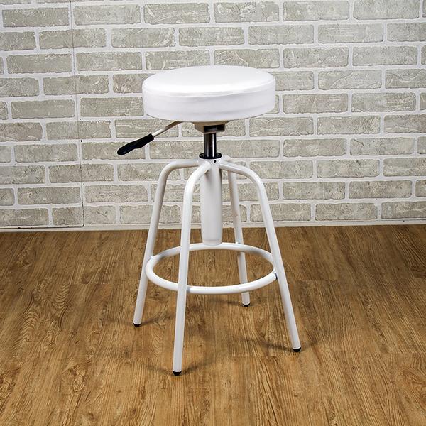 吧台椅/日式吧台椅/吧台桌椅/升降椅 (白色) MIT台灣製【6817-WH】Tasteful 特斯屋