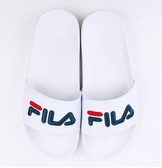 FILA系列 中性款白色 運動涼拖鞋 -NO.4S313T113