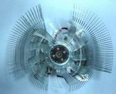 雄鷹V9 雙飛多軸4孔VGA顯卡滾珠風扇