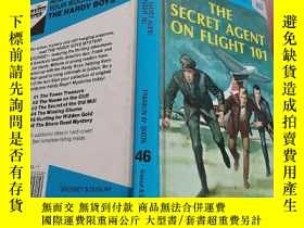 二手書博民逛書店THE罕見SECRET AGENT ON FLIGHT 101Y