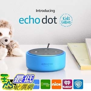 [7美國直購] Amazon Echo Dot Kids Edition, a smart speaker with Alexa for kids