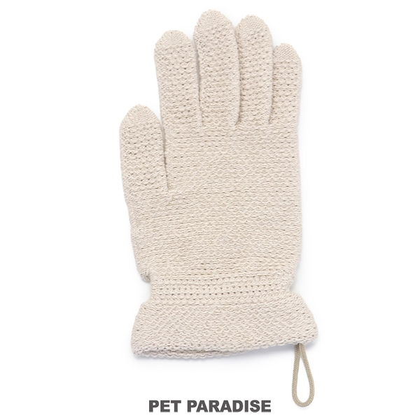 【PET PARADISE 寵物精品】Pet'y Soin 寵物吸水速乾手套/1入 寵物清潔用品