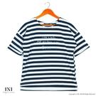 【INI】活力穿搭、休閒品味色調條紋上衣...