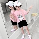 純棉中大女童T恤2020新款兒童短袖上衣韓版洋氣女孩夏季裝15歲潮9 童趣