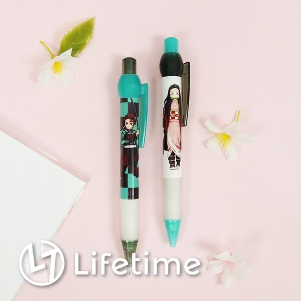 ﹝鬼滅之刃圓圓自動鉛筆﹞正版 造型筆 按壓式 自動鉛筆 鉛筆 筆 文具〖LifeTime一生流行館〗