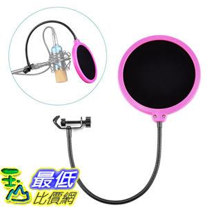 [美國直購] Neewer 錄音 麥克風 罩 B016D6VRII Studio Microphone Mic Wind Screen Pop Filter Mask Shield