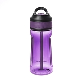 HOLA 潔爾彈蓋吸管耐用型隨手瓶-460ml紫