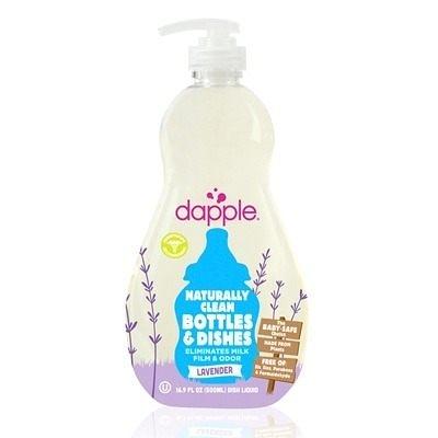 美國Dapple Baby 薰衣草奶瓶及餐具清潔液500ML