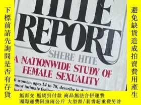 二手書博民逛書店罕見The Hite Report: A Nationwide Study on Female Sexuality