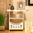 交換禮物-簡約床頭櫃現代客廳儲物小櫃子宿...