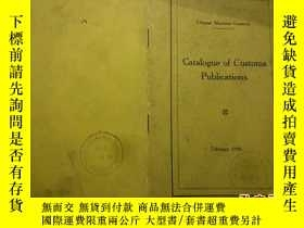 二手書博民逛書店Chinese罕見Maritime Customs——Catal