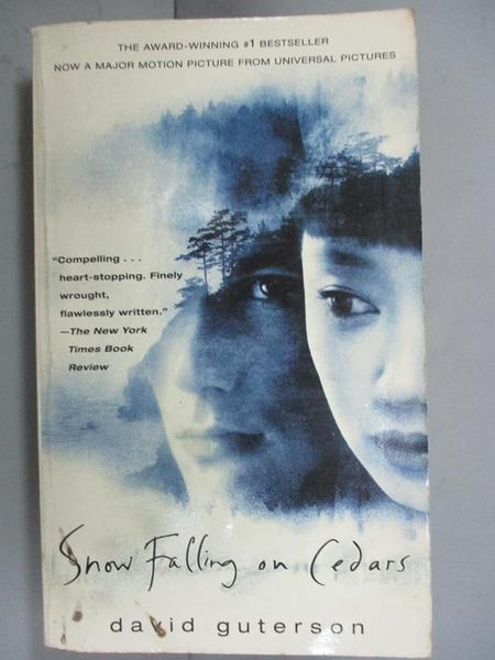 【書寶二手書T4/原文小說_GTD】Snow Falling on Cedars [Paperback] by Gutt