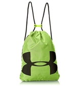 Under Armour UA Ozsee Sackpack [1240539-732] 健身袋 束口袋 抽繩 輕量 綠