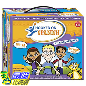 [106美國暢銷兒童軟體] Hooked on Spanish Box Set, Ages 4-6