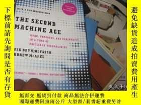二手書博民逛書店The罕見Second Machine Age: Work, P