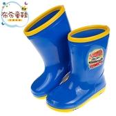 《布布童鞋》TOMICA多美小汽車藍色兒童雨鞋(15~21公分) [ A8R785B ]