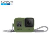 GoPro HERO8 矽膠護套+繫繩 AJSST-005 雨林綠色 (公司貨)