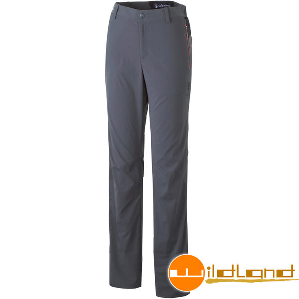 Wildland 荒野 0A31301-93深灰色 女彈性抗UV長褲