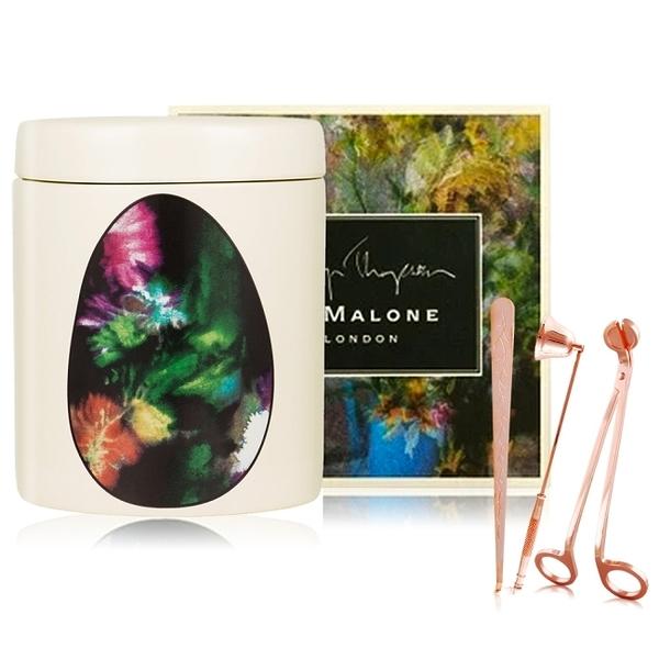Jo Malone 青檸羅勒與柑橘香氛蠟燭200G聯名+蠟燭三件