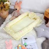 嬰兒床中床新生兒童床便攜嬰兒床折疊哄睡神器仿生床上嬰兒床中床wy