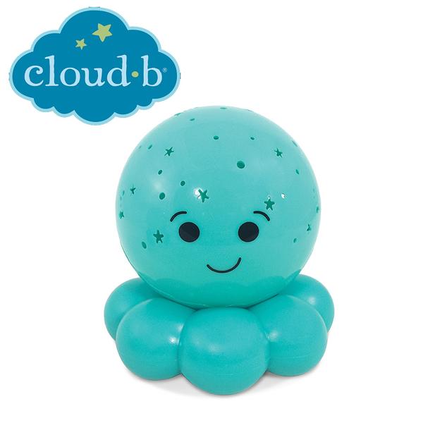 美國cloud b 星光閃耀八爪魚夜燈-藍色 CLB7451-BL3