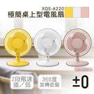 【日本正負零±0】極簡桌上型電風扇 XQS-A220