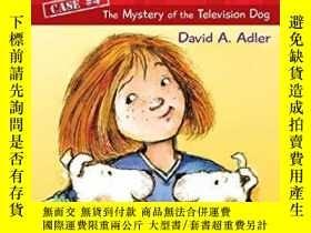 二手書博民逛書店Cam罕見Jansen & The Mystery of the Television Dog (Cam Jans