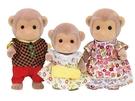 日本 EPOCH森林家族 猴子家庭EP14470 原廠公司貨