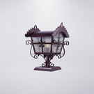戶外防水門柱燈 可搭配LED...