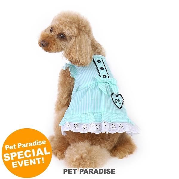【PET PARADISE 寵物精品】Pretty Boutique 薄荷條紋洋裝 (3S/DSS) 寵物用品 寵物衣服《SALE》