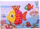新品益智玩具 兒童貼畫大號3D立體手工粘貼畫 貼紙DIY制作套裝生日禮物