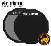 【小麥老師樂器館】美國 Vic Firth PAD6D【Q10】6吋 雙面 打點板 打擊板 另有 爵士鼓 電子鼓